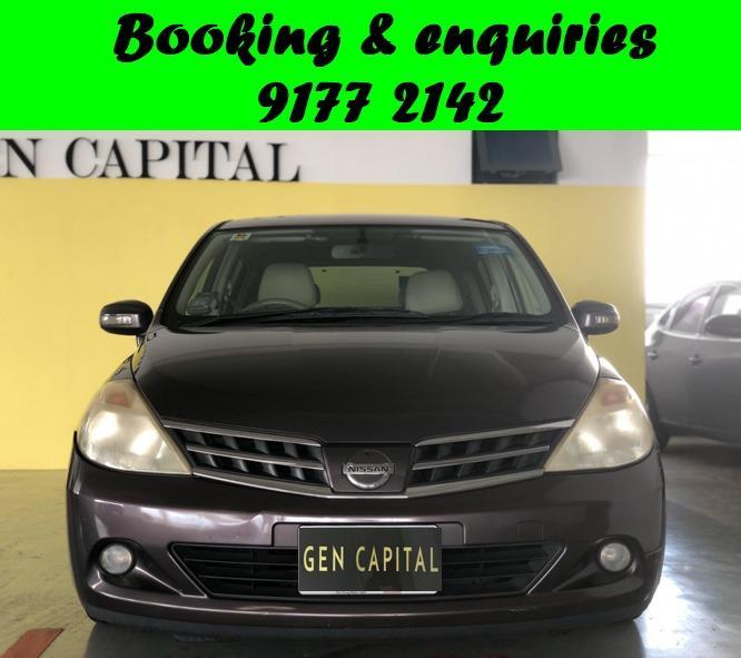 Nissan Latio Hatchback. Cheap Car Rental. Cheap. Budget. September Early Bird promo. $500 deposit only. Whatsapp 9177 2142 to reserve.