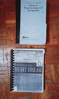 Pathophysiology of Heart Disease; Goodman & Gilman