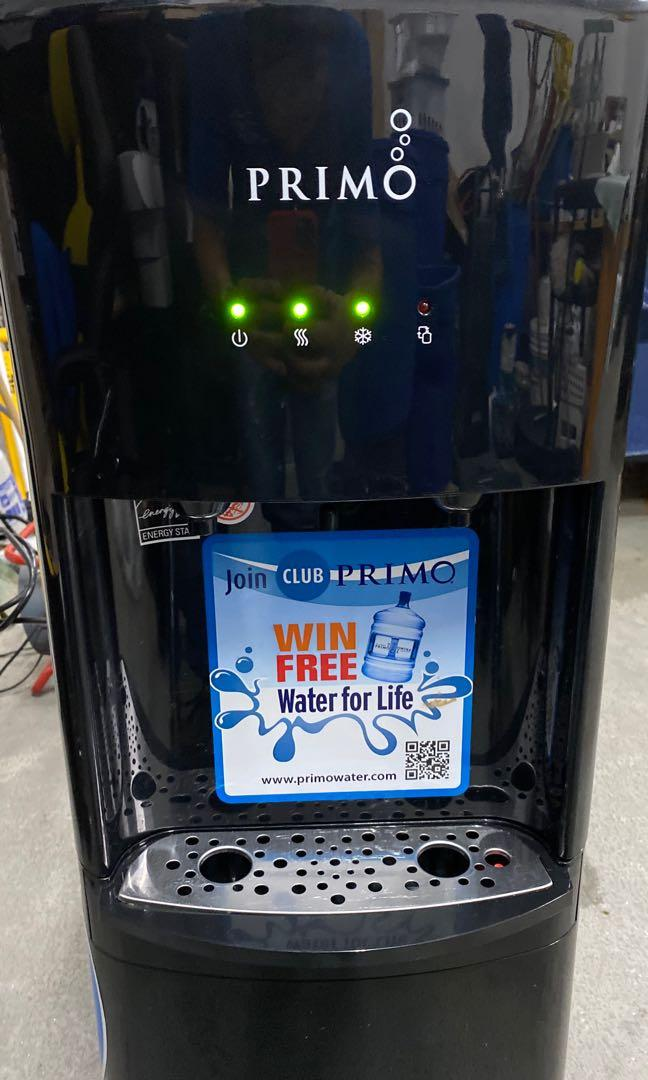 Primo Bottom hot and cold water dispenser.