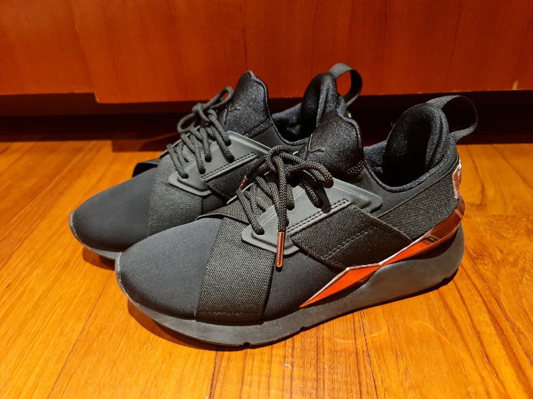 puma muse metal shoes