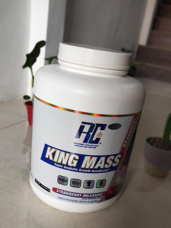 NEGOTIABLE RONNIE COLEMAN KING MASS PROTEIN POWDER