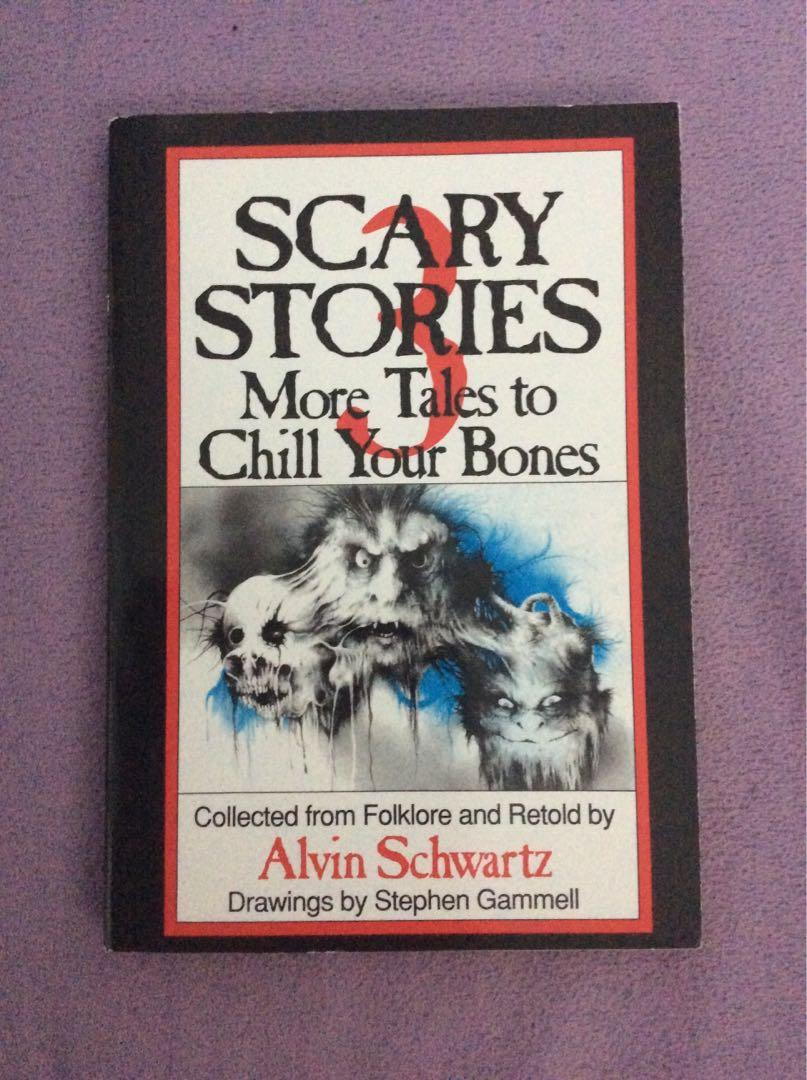 Scary Stories 3 book