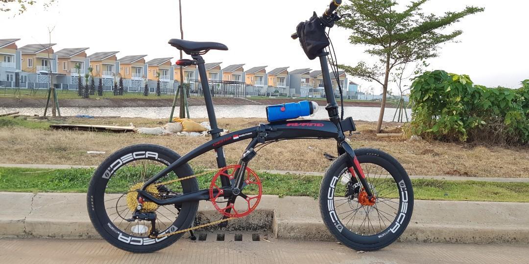 Sepeda Lipat Avand Chester 9 Speed