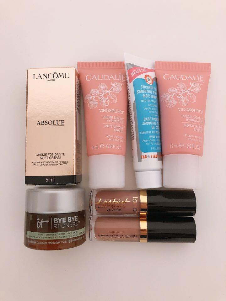 Sephora Makeup Skincare Lot Tarte Lancôme Caudalie
