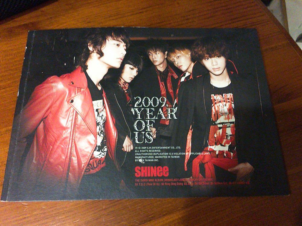 SHINee專輯 2009 YEAR OF US