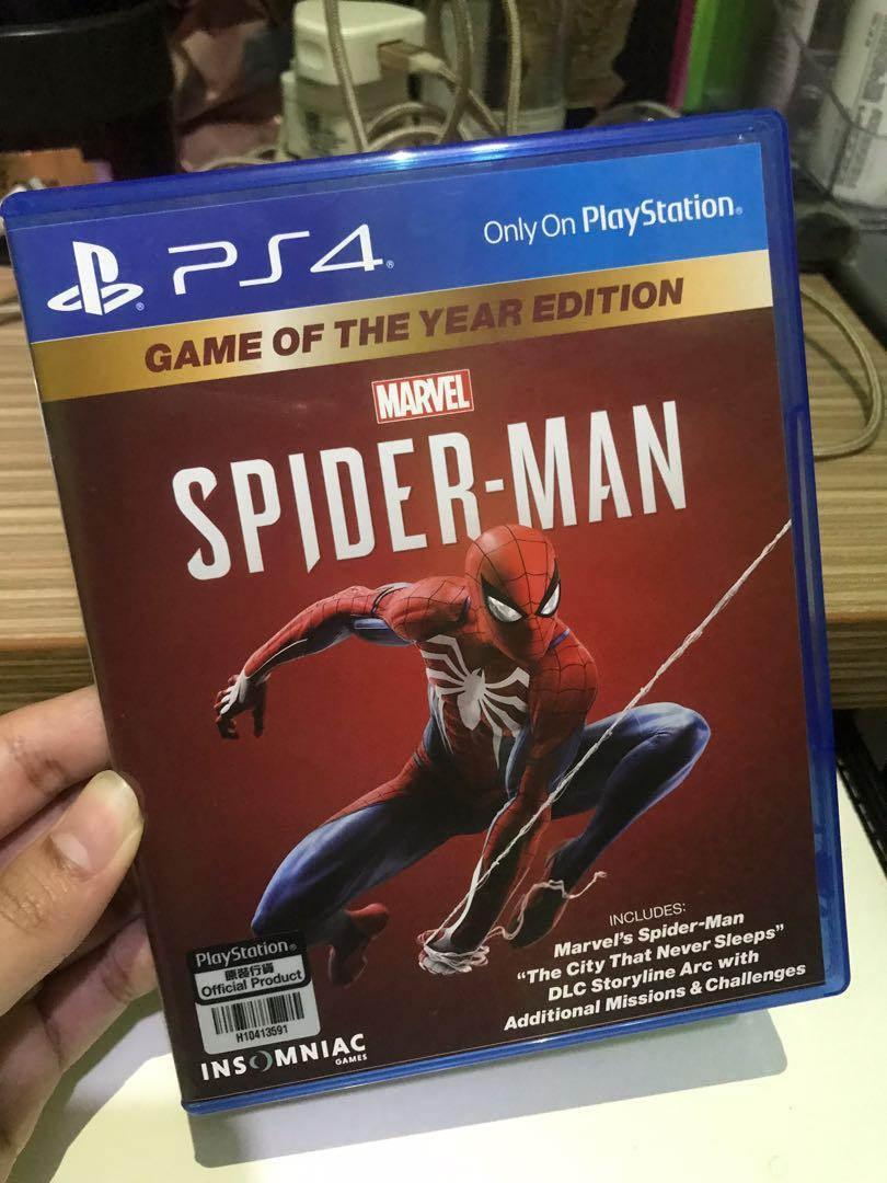 Spiderman game ori