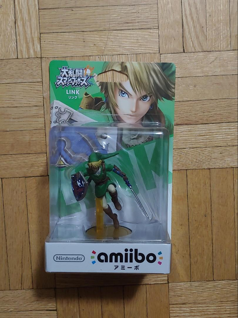 JP Super Smash Brothers Link Amiibo