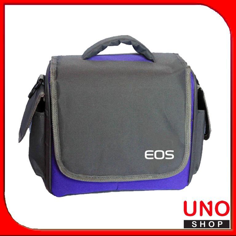 Tas Kamera DSLR dan Mirrorless Kode UT Canon Eos - Ungu