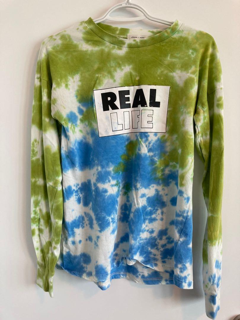 Tie dye L/S shirt