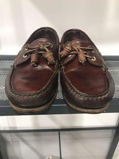 Timberland 真皮 帆船鞋
