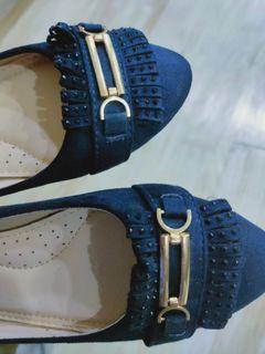 Tomaz Blue Suede Shoe Size 37
