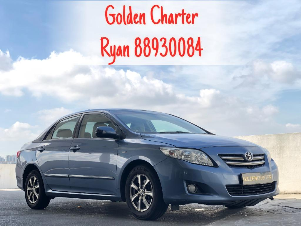 Toyota Altis For Rent ! Gojek , Grab , Personal . Contact 88930084