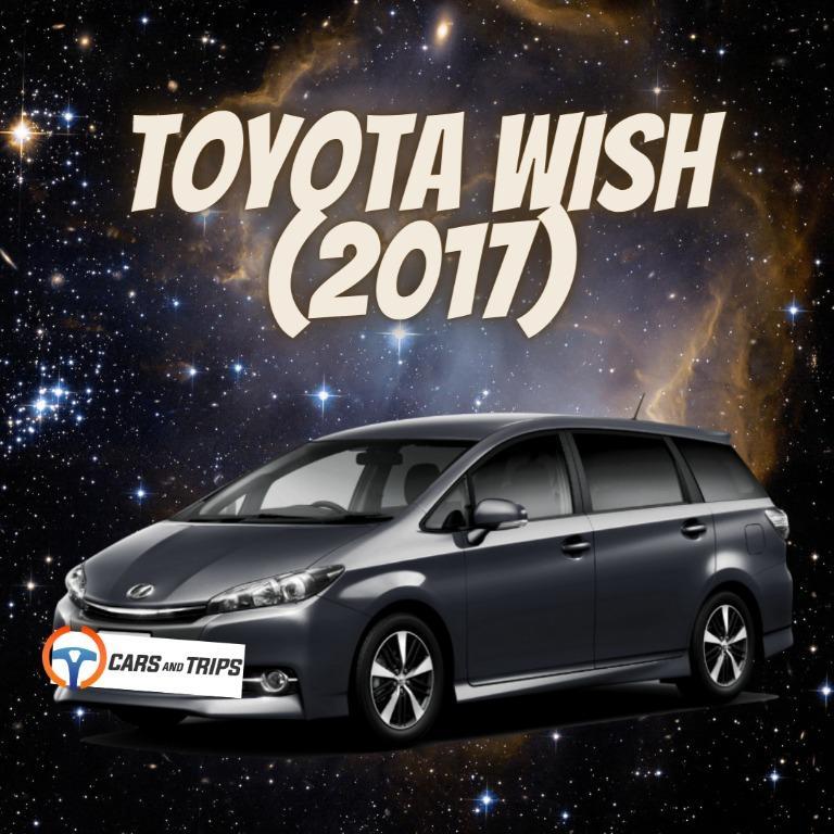 Toyota wish ( 2017 )