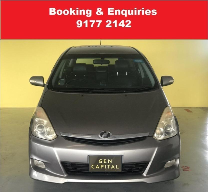 Toyota Wish. Cheap Car Rental. Cheap. Budget. September Early Bird promo. $500 deposit only. Whatsapp 9177 2142 to reserve.