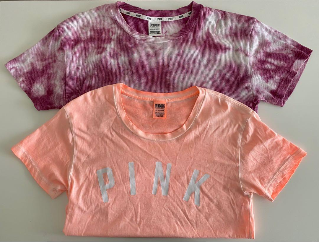 TWO FOR $40 BRAND NEW VICTORIA'S SECRET PINK T-SHIRTS