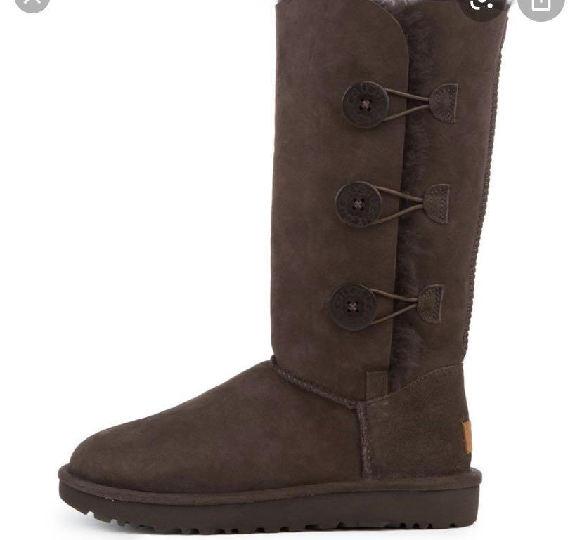 Ugg triple Bailey button