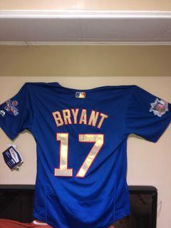 World series Limited addition Chris Bryant jersey