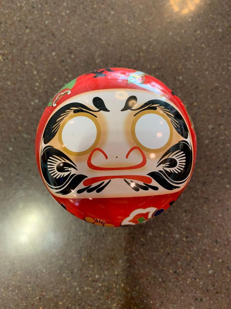 摩達 空茶罐 鐵罐 無傷痕 日式