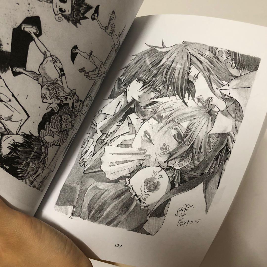 同人 同人誌 繪本 同人圖 同人繪本 同人本 動漫 插畫 著色本 黑白 卡通 家庭教師 可愛