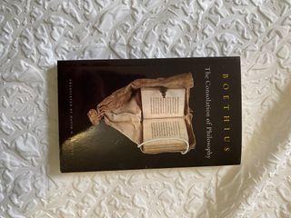 Boethius- Consolation of Philosophy