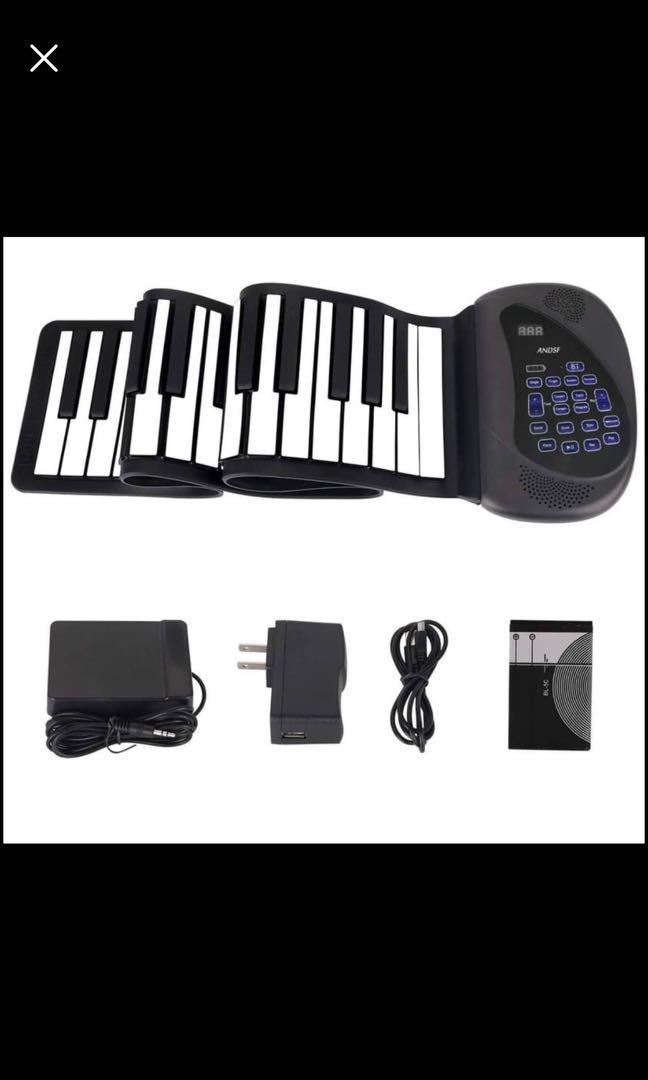 Brand new Portable Flexible Electronic 61-Key piano