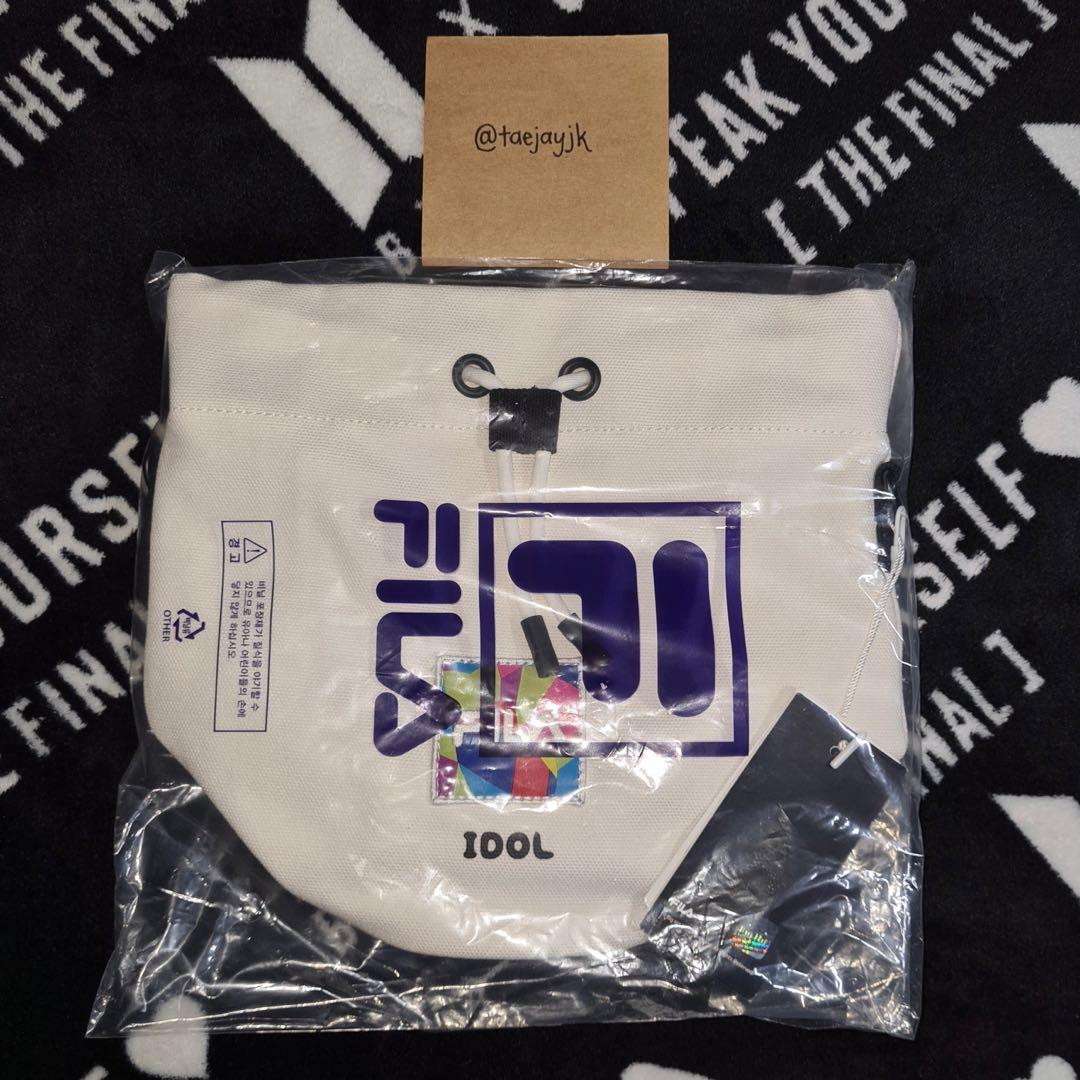 BTS x FILA Idol Bucket Bag