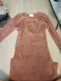 C/MEO sweater dress