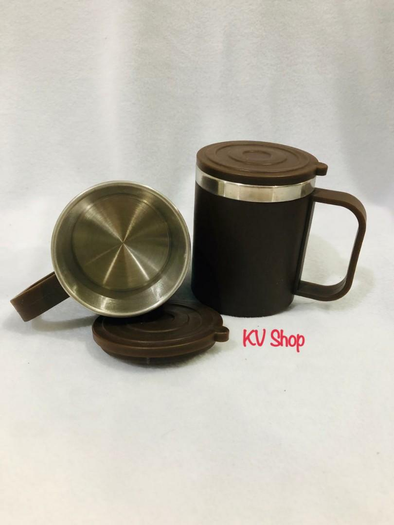 Daiso Brown Mug Cup 200ml