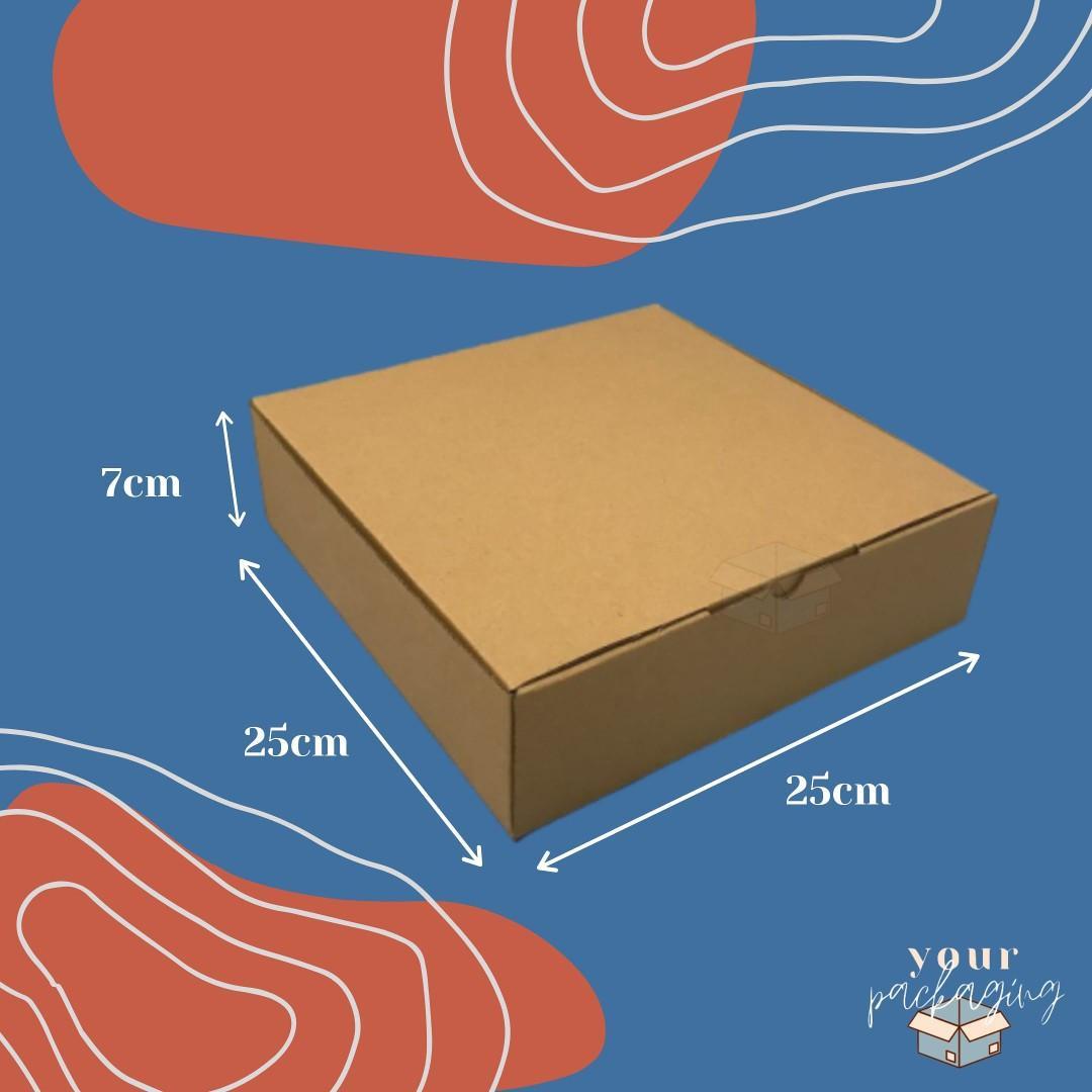Dus Kemasan Box Uk. 25x25x7