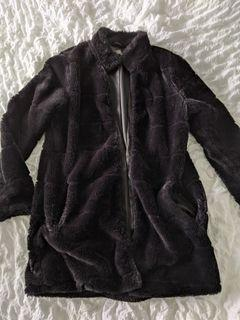 Faux Fur long winter coat