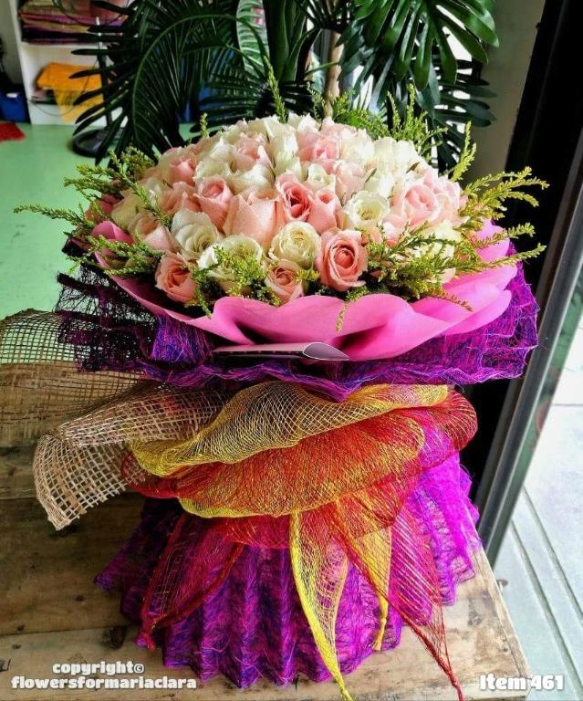 Flower Bouquet Delivery Quezon City Metro Manila Gardening Flowers Plants On Carousell