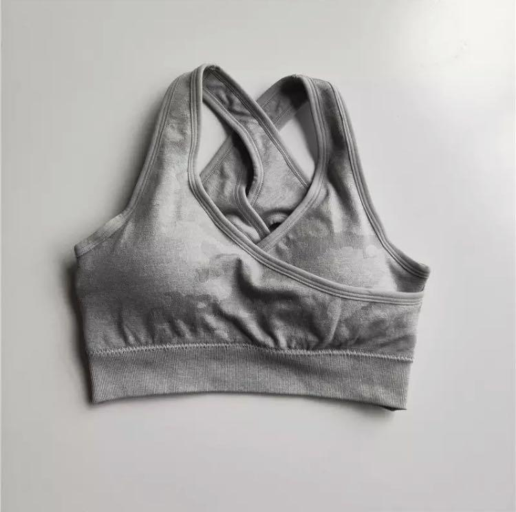 Gymshark Dupe - Camo Bra Size XS/S