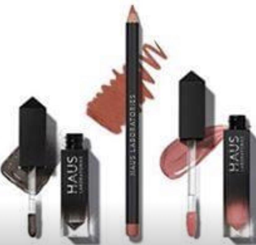 HAUS LABORATORIES HAUS of Collections, 3 pieces All-Over Color, Lip Gloss, Lip Liner