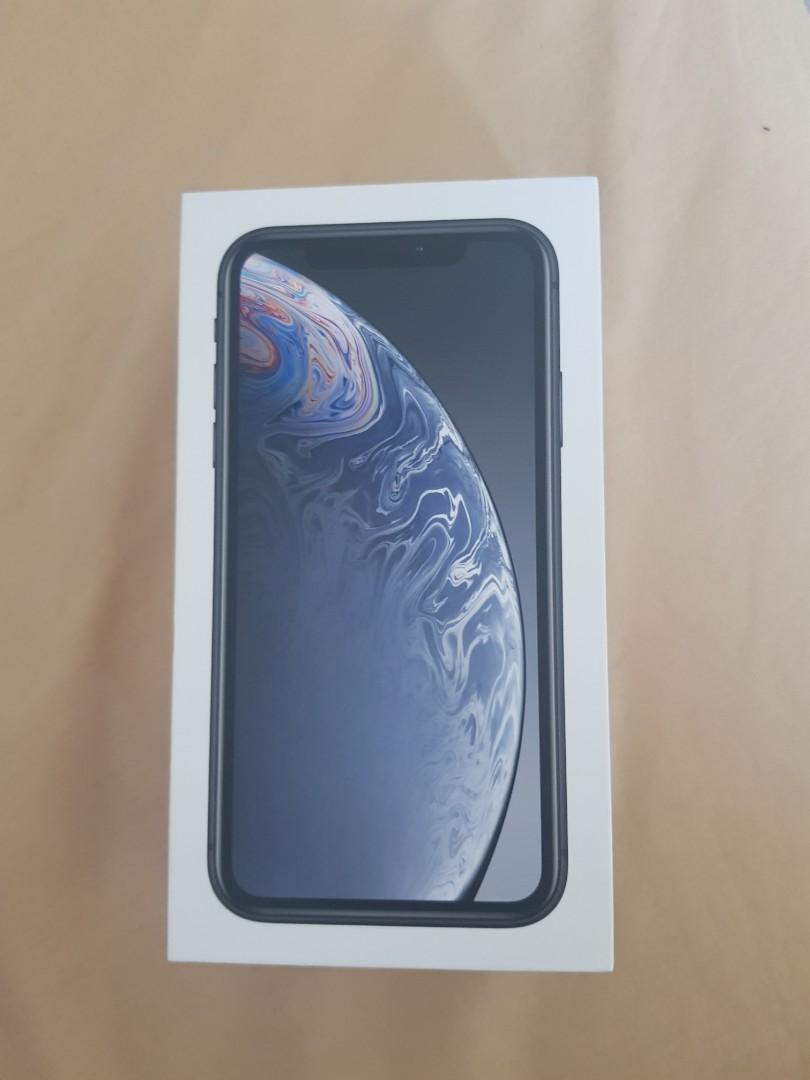 Iphone XR 128gb dual sim Black lengkap (ex Garansi ibox ...