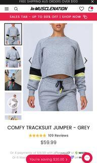 Muscle nation tracksuit set