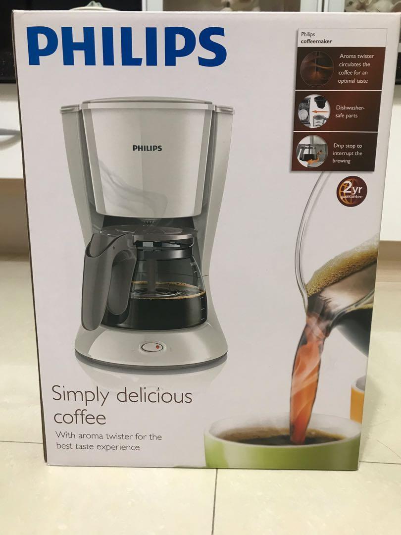 全新✨Philips滴漏式咖啡機