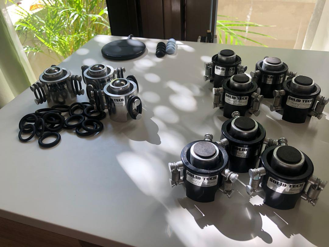 Solid Tech Feet Of Silence Electronics Audio On Carousell