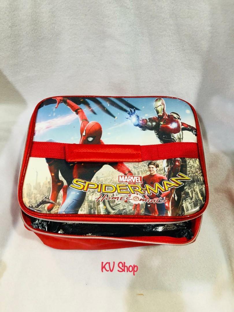Tas Tempat Makan Anak / Lunch Bag Motif Spiderman