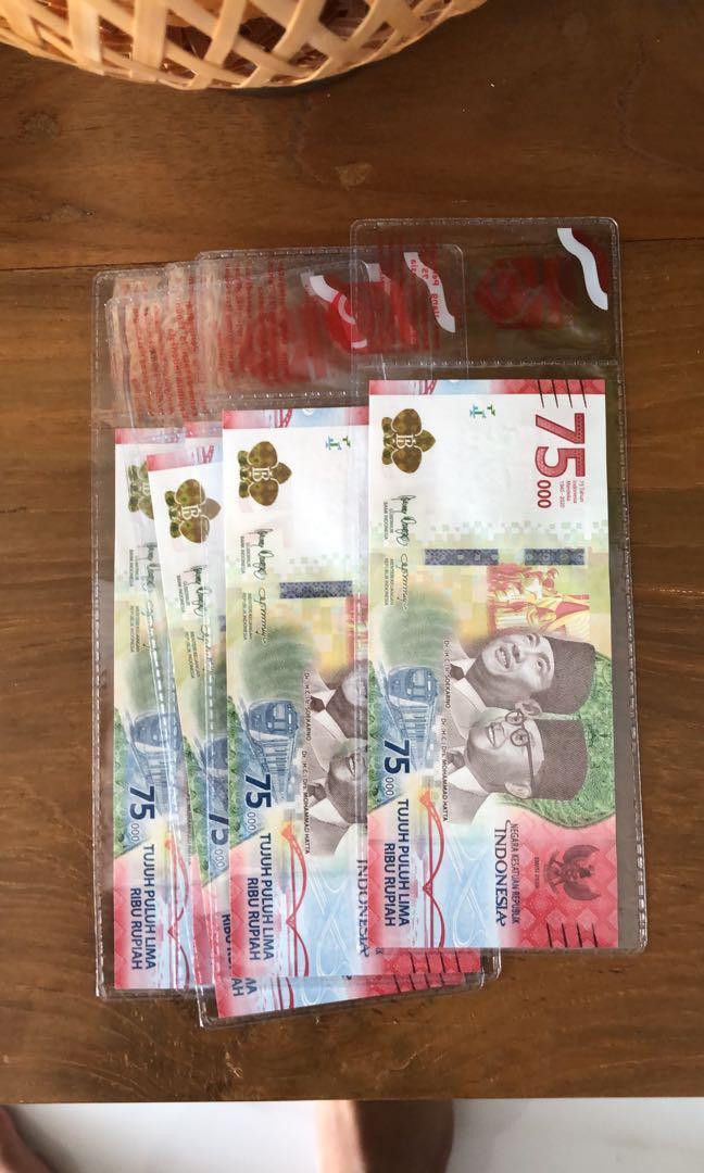 uang baru 75rb (terbatas)