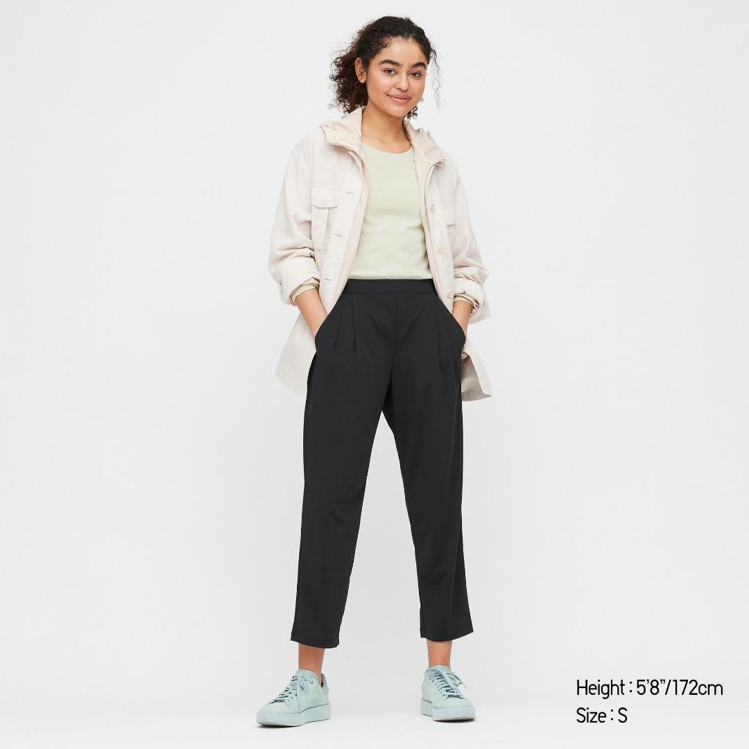 Uniqlo Crepe Jersey Tapered Pants