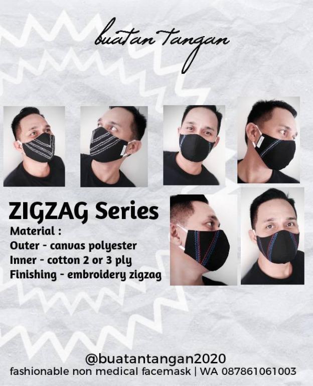 Masker non medical - ZIGZAG Series