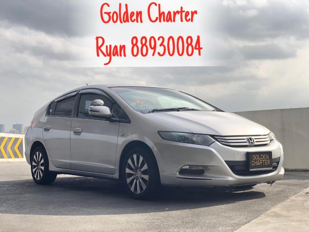04/09 Call 8893 0084 Ryan Honda Insight Hybrid 1.4 Very Affordable Available For Rent!!! Go-Jek Rebate, Grab, Ryde, PHV, Personal Usage Available! While Stocks Last ! Rent Car ! Car Rental ! Cheap Rental Car !
