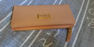 Clearance sale - Forever Young long wallet peach colour only one pcs