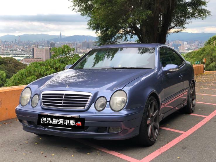 丞鎰汽車2001年BENZ CLK320