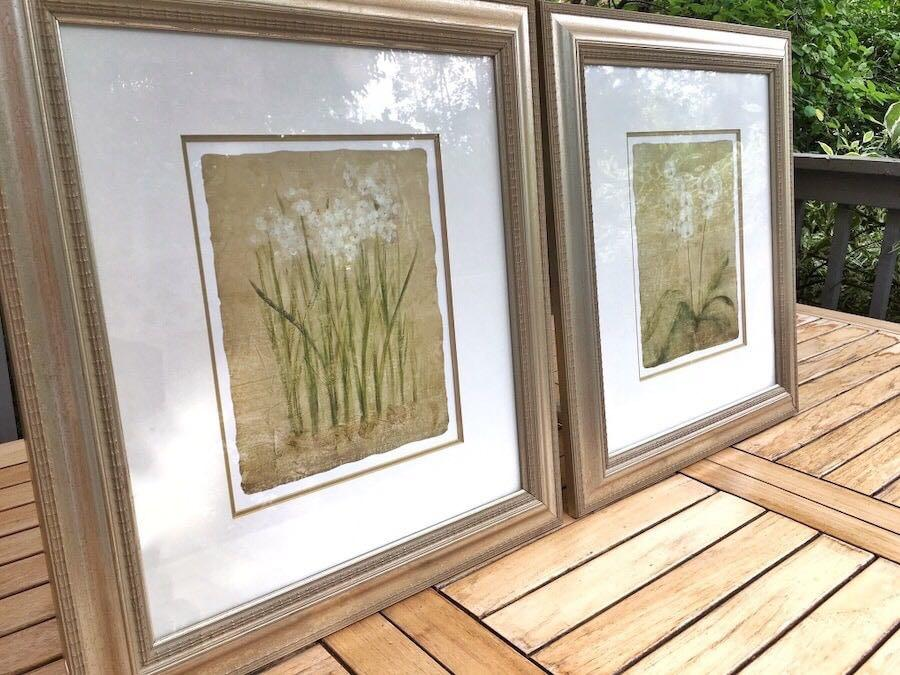 2 stunning matted/framed prints purchased at an art gallery in Toronto