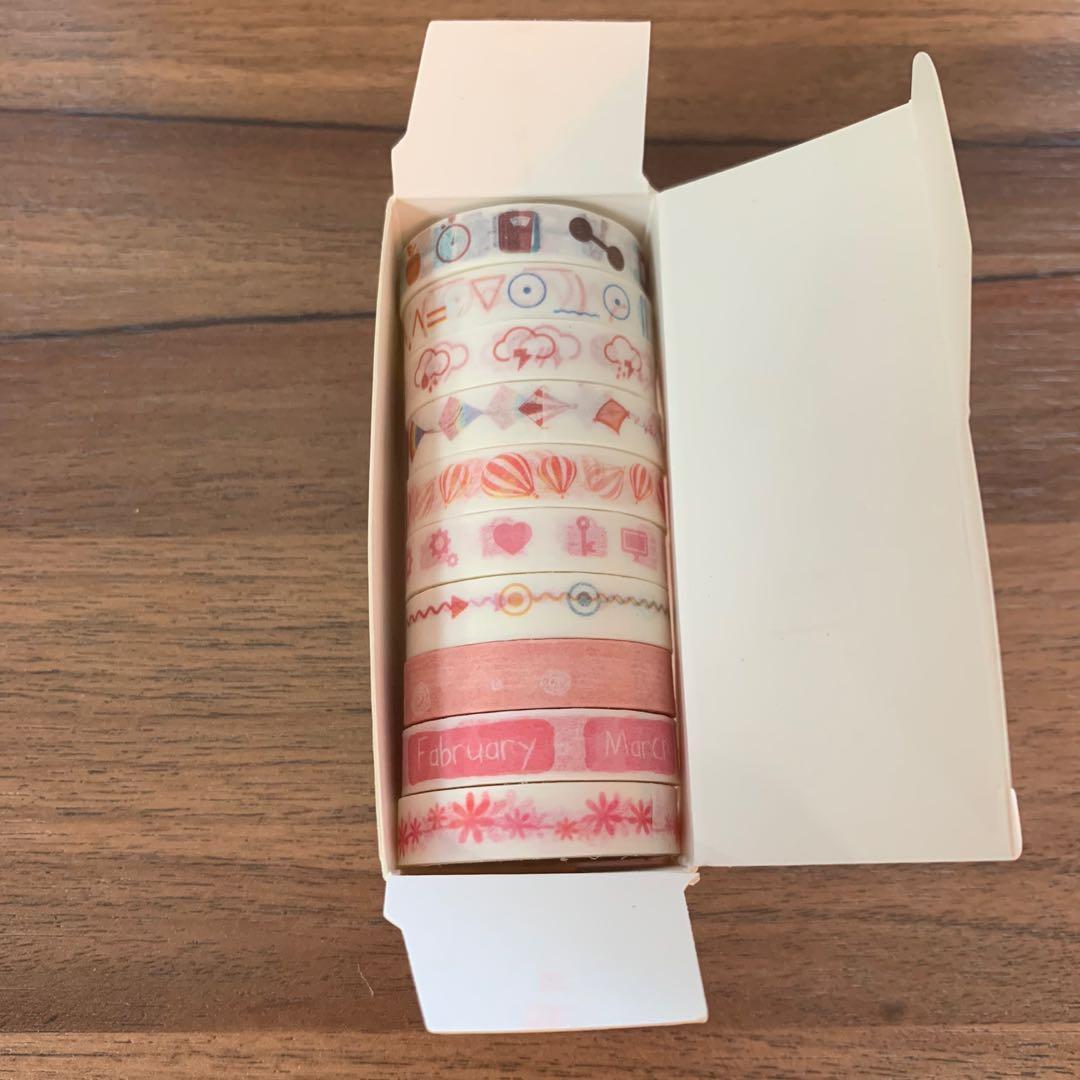 紙膠帶滿600元 贈