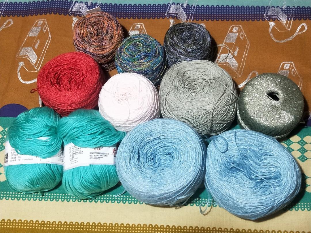 編織線材 毛線 手作