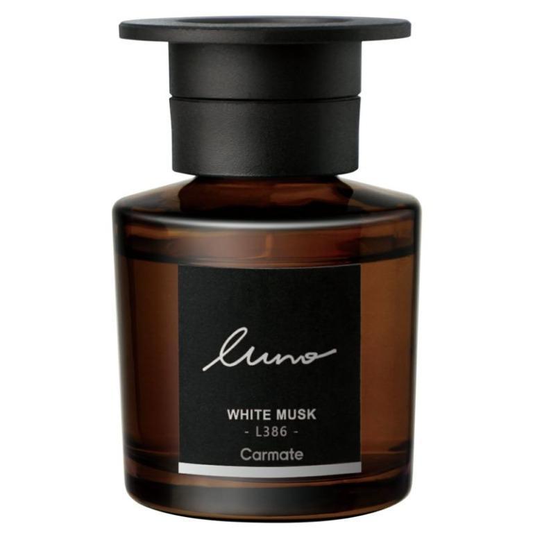 權世界@汽車用品 日本CARMATE LUNO 天然液體香水消臭芳香劑 白麝香 L386