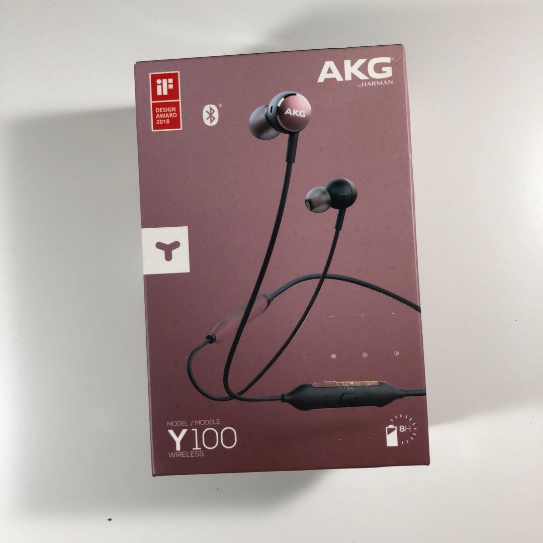 AKG Y100 頸掛式藍牙耳機