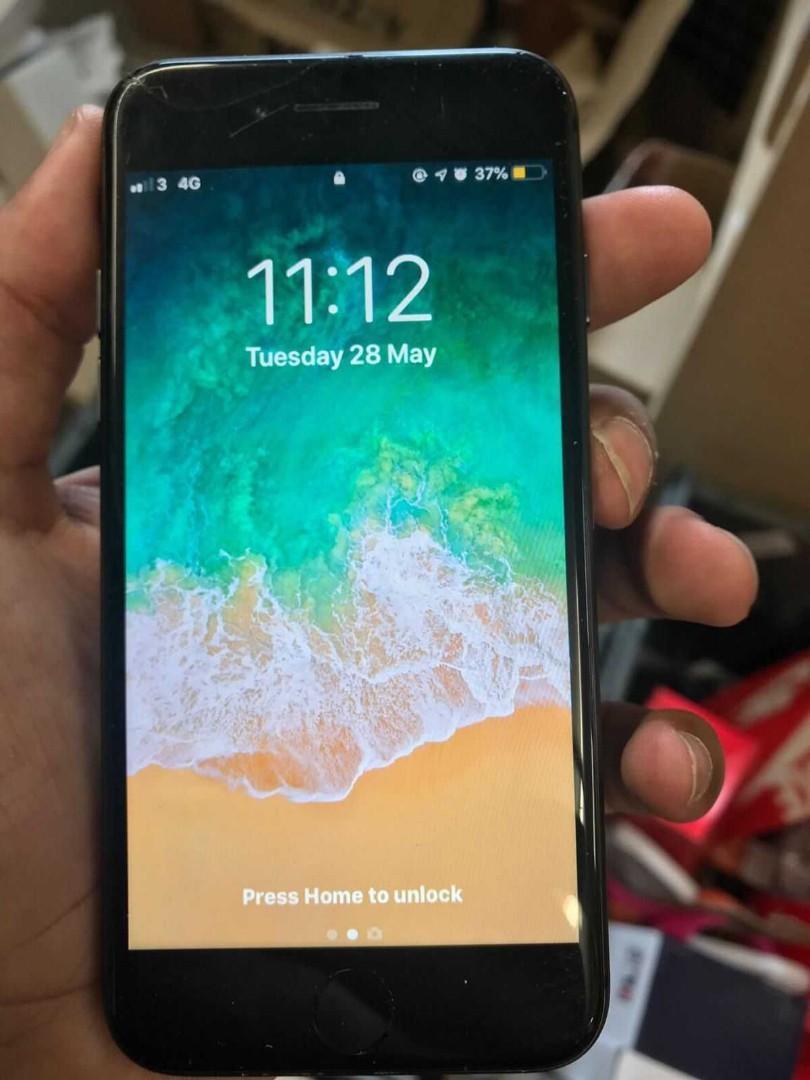 Black unlocked iphone 8